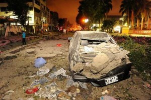 Aftermath of the Huge Gas Explosions in Taiwan (60 photos) 6