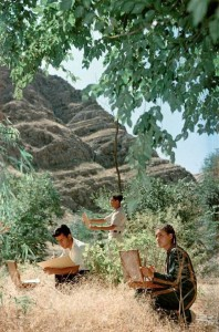 Rare Color Photos of Everyday Life in the Soviet Union in 1950s (30 photos) 7