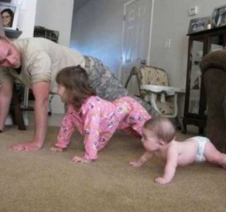 Cute Kids Acting Like Their Parents (35 photos)