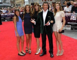 Sylvester Stallone and his Beautiful Women (11 photos) 10