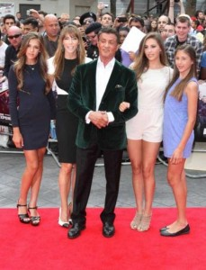 Sylvester Stallone and his Beautiful Women (11 photos) 11