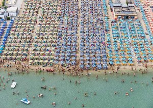 Colorful Italian Beaches From Above (29 photos) 12