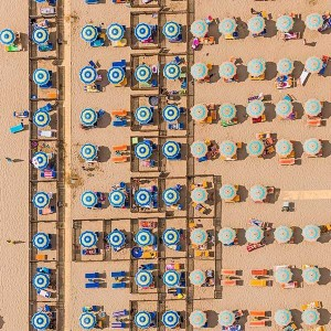 Colorful Italian Beaches From Above (29 photos) 15