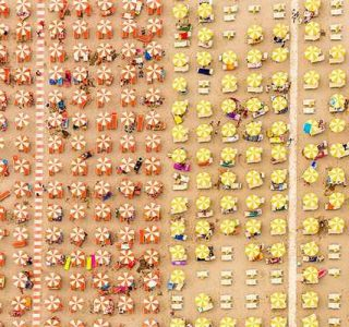 Colorful Italian Beaches From Above (29 photos)