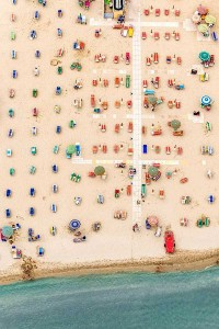 Colorful Italian Beaches From Above (29 photos) 26
