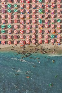 Colorful Italian Beaches From Above (29 photos) 27