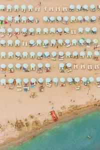 Colorful Italian Beaches From Above (29 photos) 8