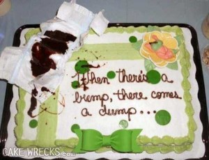 Terrible Birth-Related Cakes (27 photos) 14