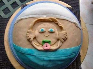 Terrible Birth-Related Cakes (27 photos) 24