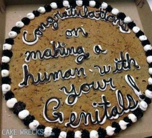 Terrible Birth-Related Cakes (27 photos) 27