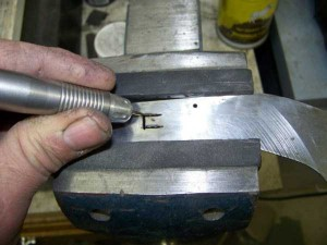 Making a Custom Folding Knife (56 photos) 23