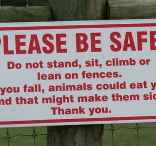 20 Funny and Sarcastic Warning Signs (20 photos)