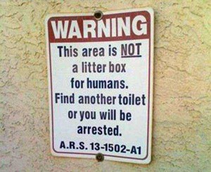 20 Funny and Sarcastic Warning Signs (20 photos) 5