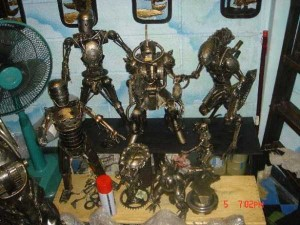 Awesome Metal Sculptures Made From Used Car Parts (20 photos) 10