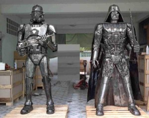 Awesome Metal Sculptures Made From Used Car Parts (20 photos) 14