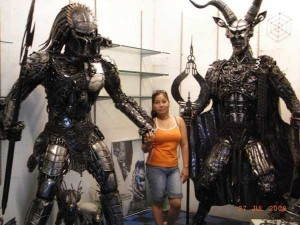 Awesome Metal Sculptures Made From Used Car Parts (20 photos) 4