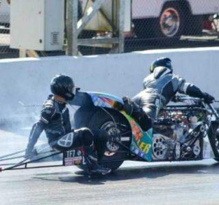 Bizarre Drag Racing Accident (11 photos)