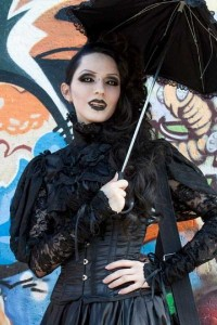Girls of the Goth Subculture (274 photos) 176