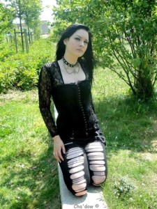 Girls of the Goth Subculture (274 photos) 270