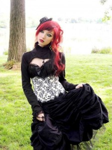 Girls of the Goth Subculture (274 photos) 67