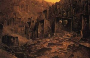 Painter's Terrifying Visions of Hell (27 photos) 10