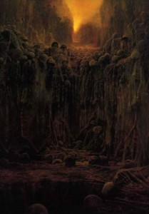 Painter's Terrifying Visions of Hell (27 photos) 14