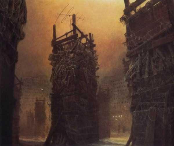 Zdzisław-Beksiński-hell-paintings (9)