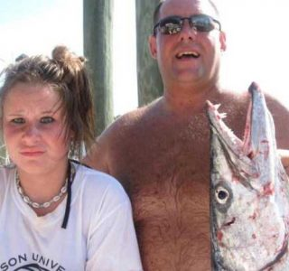 Incredibly Bizarre Fishing Accident (6 photos)