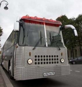 Old City Bus Transformed Into a Mobile Bar (23 photos) 7