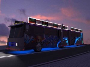 Old City Bus Transformed Into a Mobile Bar (23 photos) 9