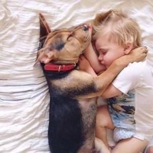 Kids With Their Four-Legged Best Friends (49 photos) 39