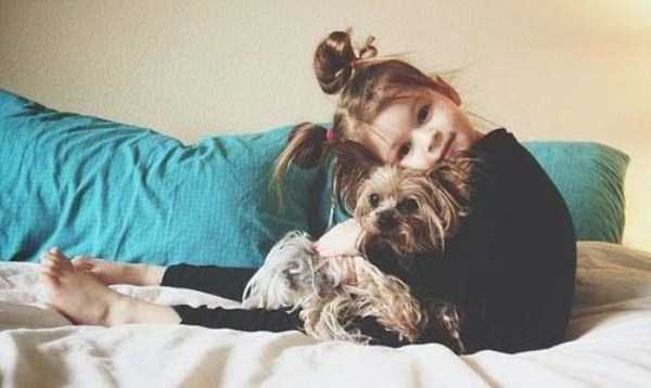 Kids With Their Four-Legged Best Friends (49 photos) 49