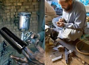 Illegal Gun Makers in Pakistan (15 photos) 8