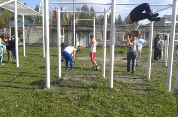 Outdoor Gym Made From Scratch (100 photos)