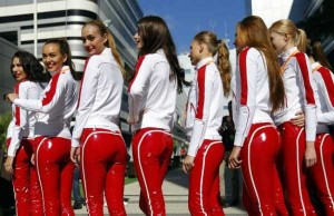 Hot Grid Girls of the Russian Formula One Grand Prix (20 photos) 12