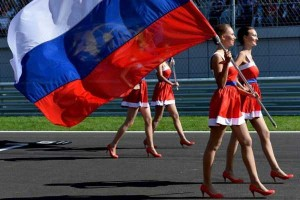 Hot Grid Girls of the Russian Formula One Grand Prix (20 photos) 13