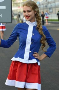 Hot Grid Girls of the Russian Formula One Grand Prix (20 photos) 3