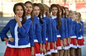 Hot Grid Girls of the Russian Formula One Grand Prix (20 photos) 6