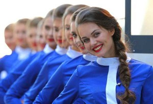 Hot Grid Girls of the Russian Formula One Grand Prix (20 photos) 9