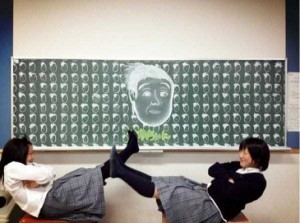 Epic Chalk Drawings by Japanese Students (15 photos) 10
