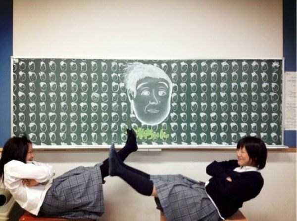 japanese-students-chalkboard-art (10)