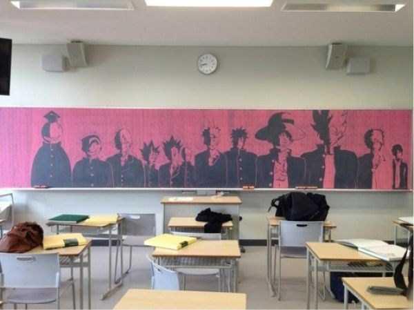 japanese-students-chalkboard-art (12)