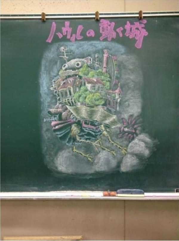 japanese-students-chalkboard-art (13)