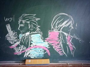 Epic Chalk Drawings by Japanese Students (15 photos) 15