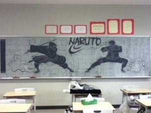 Epic Chalk Drawings by Japanese Students (15 photos) 6