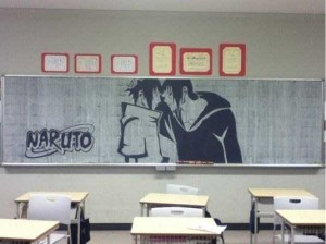 Epic Chalk Drawings by Japanese Students (15 photos) 8