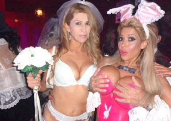 Look Inside Playboy's Halloween Party (52 photos) 53