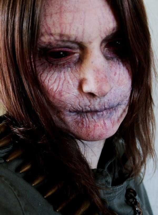 realistic halloween makeup ideas 16 pictures