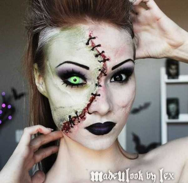 realistic halloween makeup ideas 21 pictures