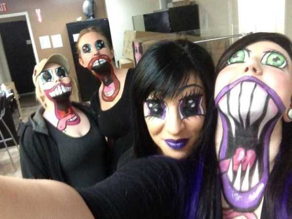 realistic halloween makeup ideas 23 pictures